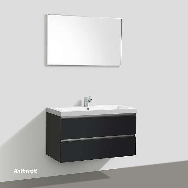 badm belset soho 100cm mit waschtisch unterschrank und spiegel farben weiss wenge. Black Bedroom Furniture Sets. Home Design Ideas
