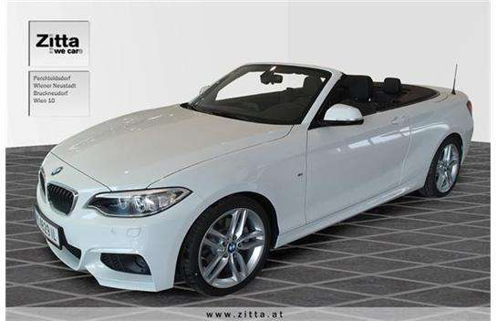bmw 2er reihe 220i cabrio m sport aut cabrio roadster 2015 km willhaben. Black Bedroom Furniture Sets. Home Design Ideas