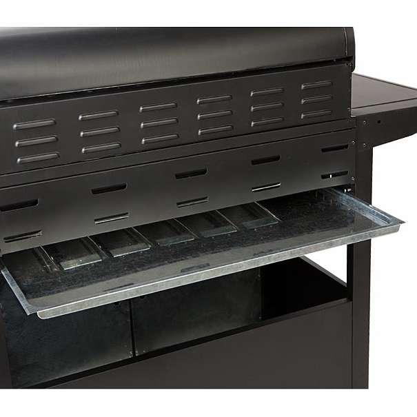 gasgrill bbq grau grillwagen 6 edelstahl brenner gas grill seitenkocher neu 299 4882. Black Bedroom Furniture Sets. Home Design Ideas