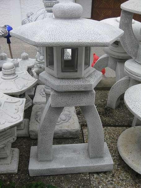Pagode Steinlaterne 75 Cm Hoch Chinesische Laterne Japanischer Garten Lampe