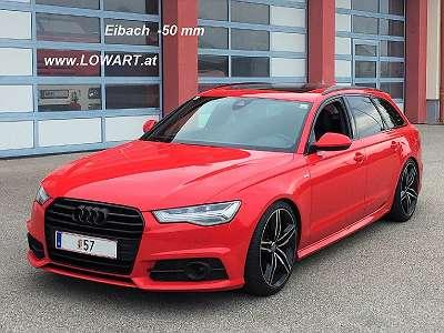 Eibach Sportfedern und Gewindefedern Audi Tuning A6 4G E21-GFA6-1 und Audi Q5 E21-GFQ5-1 E21-GFQ5-2 -30 bis -50 mm mit TÜV