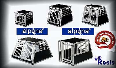 ALPUNA Hundetransportboxen (über 50 verschiedene Boxen) NEU (Versandkostenfrei)
