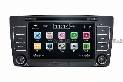 CARRAD CR6699M Autoradio Nachrüstgerät für SKODA 7