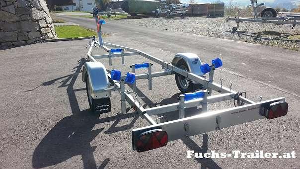 NEUER 750 KG Bootstrailer 570 KG Nutzlast für bis 5,5 Meter Boote ...