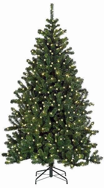 weihnachtsbaum 150cm 100 lampen lichterkette beleuchtung. Black Bedroom Furniture Sets. Home Design Ideas