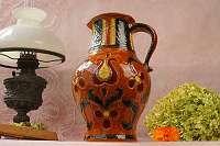 GMUNDNER KERAMIK – österreichischer Vintage-Chic vom Feinsten! Krug Vase Keramik Gmunden Gmundner Blumen Strauß
