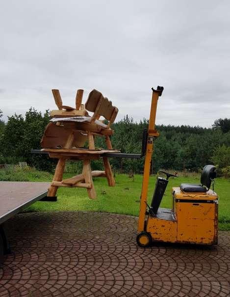 Allg sitzgruppe vollholz holz rustikale for Gartengarnitur holz massiv