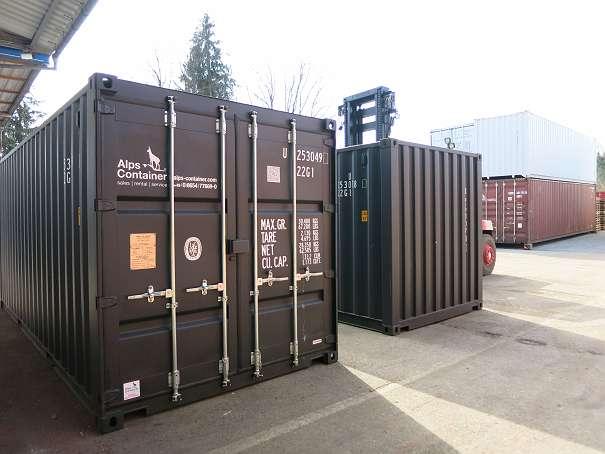 Seecontainer Hersteller 20ft seecontainer neuwertig trip 3 100 83395