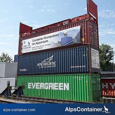 gebrauchte 40 Fuß Container