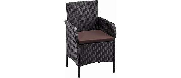 4 stk polyrattan rattan st hle stuhl gartenstuhl sessel. Black Bedroom Furniture Sets. Home Design Ideas