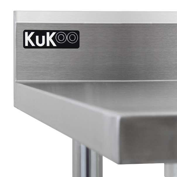 KuKoo Gastro Catering Edelstahl Arbeitstisch Küchentisch