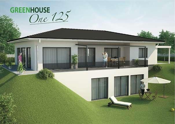 Traumhaft schöner Bungalow ONE 125 - Ausbauhaus ab € 136.480,00, 125 ...