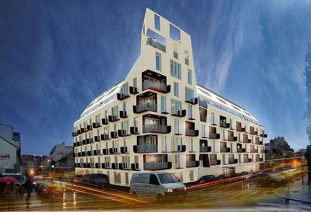 Bauprojekt SKYFALL - Dachgeschoss-Maisonette Im Hoftrakt 108 Mu00b2 U20ac 595.000- (1120 Wien ...
