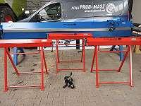 Abkantbank Biegemaschine Abkantmaschine Kantbank 1,25M mit einer Wulstmaschine 2in1