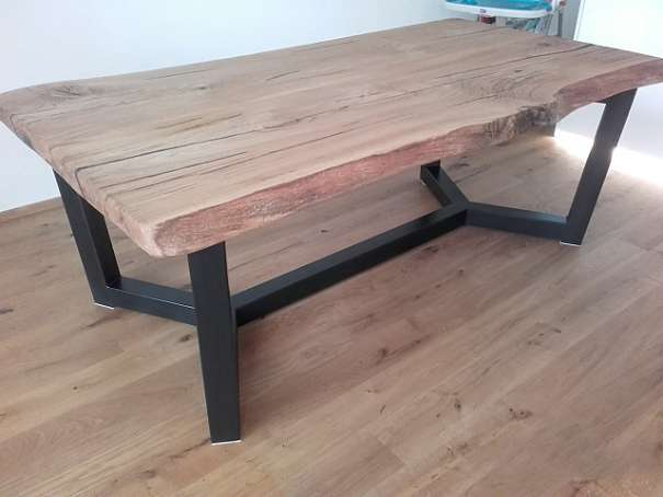 Esstisch von Tischler gefertigs, Tisch nach mass, Eiche massiv ...