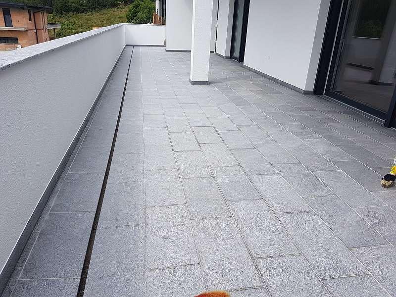 Asphalt Fußbodenplatten ~ Terasse mit naturstein bodenplatten aus granit u20ac 25 2314
