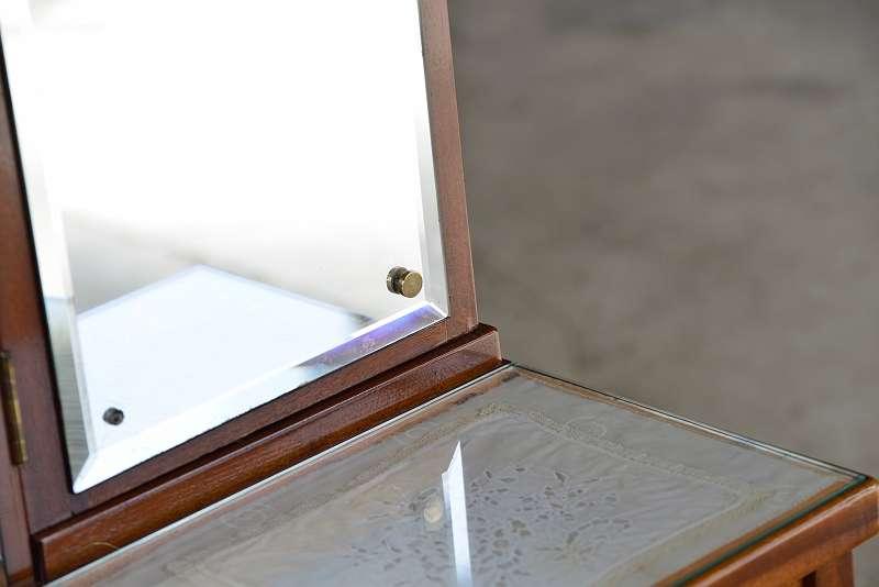 original jugendstilpsyche neu restauriert tolle intarsien psyche spiegelkommde riesiger 3. Black Bedroom Furniture Sets. Home Design Ideas