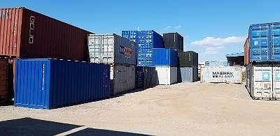 8 > 45 FUSS Container/ Lager/ mobiler Lagerraum