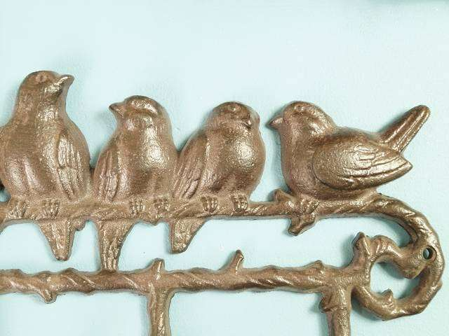 Vögel mit 6 Haken