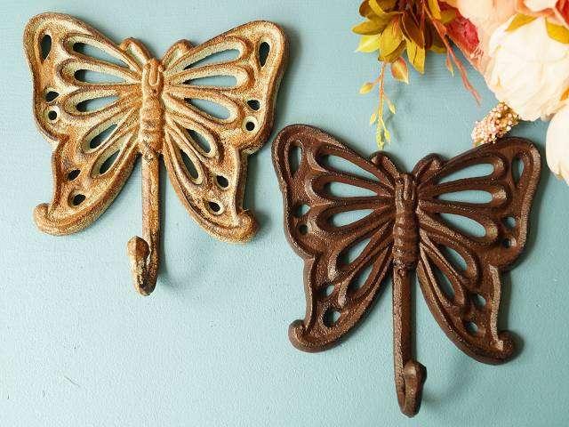 Schmetterling grün und braun