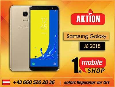 Samsung Galaxy J6 2018 - GEBRAUCHT - mit Garantie - Werksoffen - #Schwarz