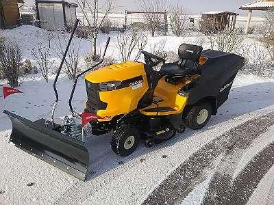 Schneeschild mit Schnellwechselkupplung TS 125 von Tielbürger
