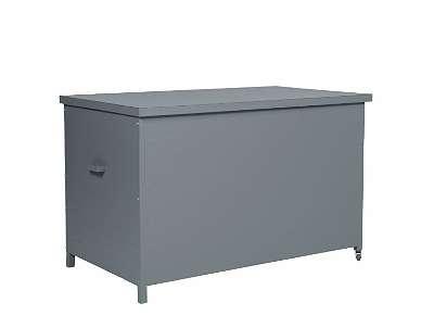 Cambridge Kissenbox 138 x 72 x H74,5 cm arctic grey Auflagenbox Gartenbox Aufbewahrungsbox GI62102GT