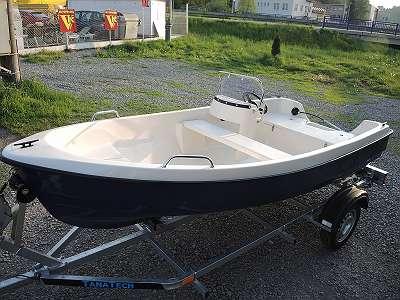 Sonderangebot - RABATT 15% bis 31.5. - Fabrikneues Angelboot