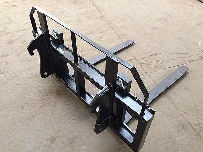 AGROMET Palletengabel 3,5t mit Gabeln 120 cm / Neu! Stark - mit jeder Aufnahme / AGROMET