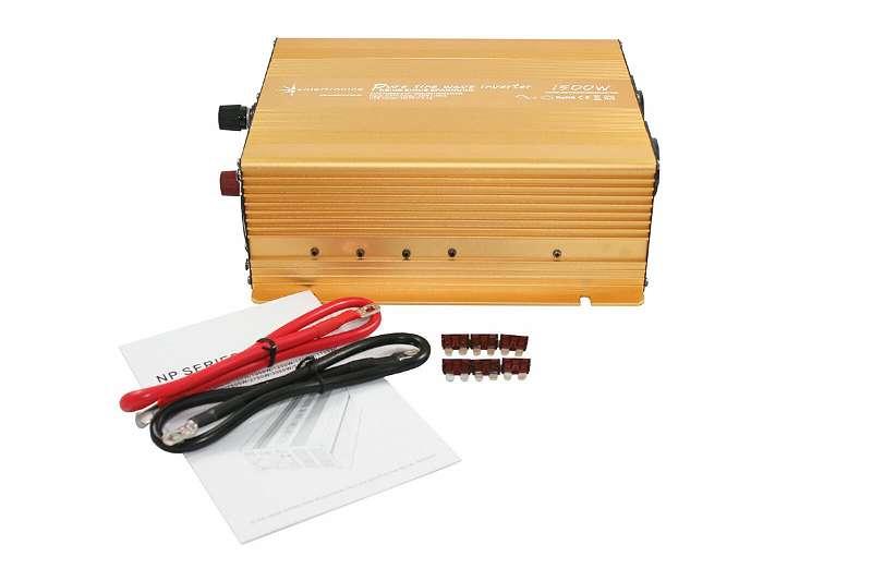 Spannungswandler 12V 1500 3000 Watt Wechselrichter reiner Sinus Gold Edition