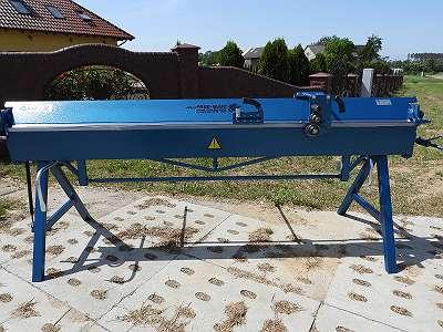 Abkantbank Abkantmaschine Kantbank Biegemaschine Blechbiegemaschine 2640/1.2 mit Rollenschere 0.8mm NEU