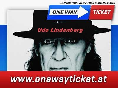 Udo Lindenberg*Live in Stadthalle Wien*Top Tickets*Sitzplätze im 1. Rang*Osttribüne*Unterrang*20.05.2020