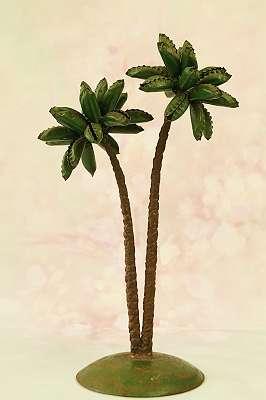 MIDCENTURY! Kultige Palmen - Handarbeit aus den 50ern 60er Vintage Style Insel Palmen Strand Seefahrt Meer Matrose Kapitän Eiland Marine