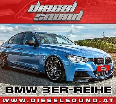 BMW 3er F30 F31 Active Sound inkl. Einbau