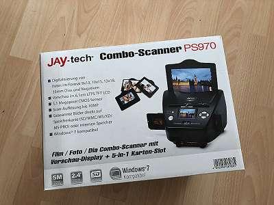 Jay-tech PS970 Combo Bild-/ Diascanner (1800dpi, LED, 12bit pro Kanal) mk1 zz 012 tng