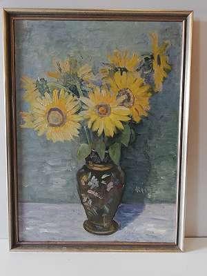 Heinzel - Stilleben mit Sonnenblumen