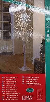 Led- Baum Birke