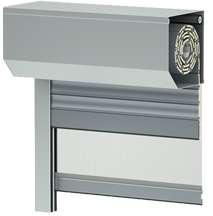 Standard Vorsatz-Rollladen mit integriertem Insektenschutzrollo