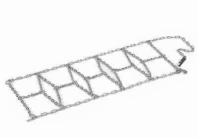 Schneeketten für die Luftreifen für Elektrotraktor John Deere Ground Force und Ground Loader von PEG PEREGO