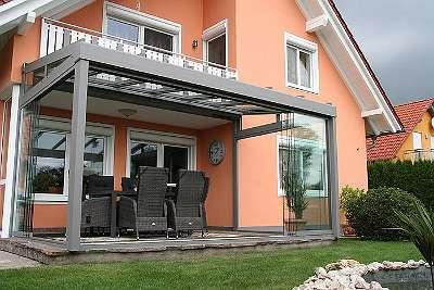 Pergola AREA Exklusiv oder Classic, Breite 500 cm x Ausladung 325 cm