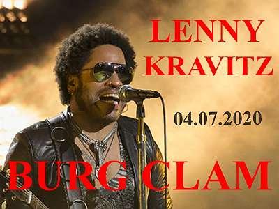 Lenny Kravitz 4. Juli 2020 Burg Clam Stehplätze Onewayticket
