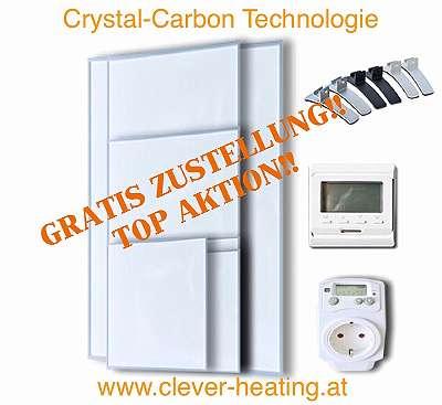 Infrarotheizung 180 - 1200 Watt Infrarot Paneel Infrarotheizung Heizung Thermostat neu