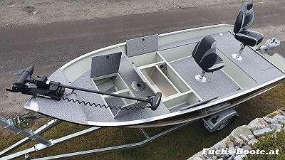 500 Fish DLX 500 cm x 186 cm 50PS Aluboot Aluminiumboot Alu Boot Angelboot Ruderboot Motorboot auf wunsch mit Außenborder Bugmotor Bootsanhänger usw. 500Fish DLX Marine