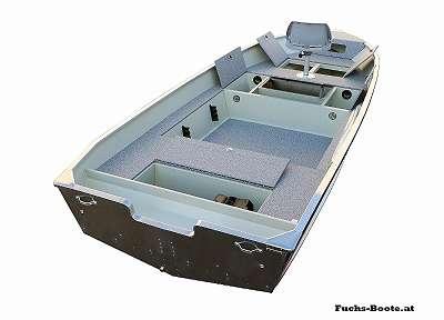 500 Fish DLX Aluboot Aluminiumboot Marine Boote Fischerboot Angelboot Ruderboot Fuchs-Boote