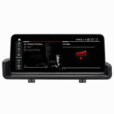 CARRAD Autoradio Nachrüstgerät für BMW 3er Serie E90 E91 E92 E93 Android 10,25