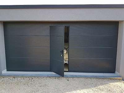 Tore - Türen - Garagentore - Sektionaltore - Deckensektionaltore mit Gehtüre - stabil und dicht - Ryterna steht für Qualität - Mayr&Söhne GeneralvertriebsgmbH - 190 Fachhandlspartner in gesamt Österreich