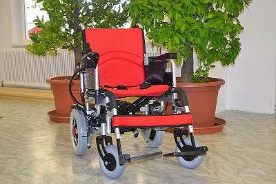 Faltbarer Elektrischer Rollstuhl