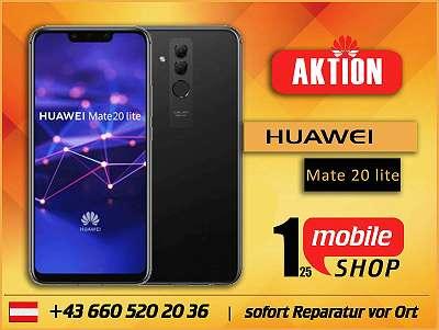 Huawei Mate 20 lite - NEUWERTIG - mit Garantie - Werksoffen - Schwarz