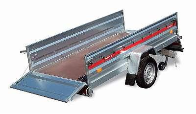 PKW Anhänger, Tieflader PRAKTI 2012 750kg