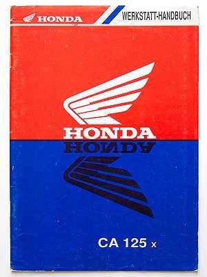 Honda CA125x Werkstatt-Handbuch Addendum